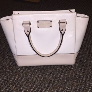 Two toned Kate Spade handbag or crossbody